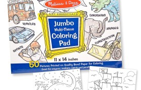 Melissa and Doug Jumbo Coloring Pad