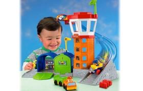 Little People Wheelies Airport Toy Set