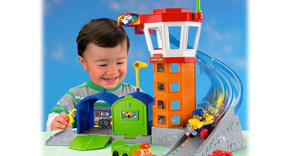 Little People Wheelies Airport Toy Set