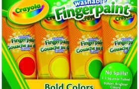 Crayola Washable Fingerpaint