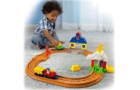 Little People Wheelies Connect n' Play Railway Play Set