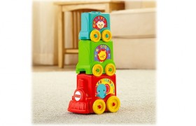 Fisher Price Stack & Roll Choo Choo Train Set
