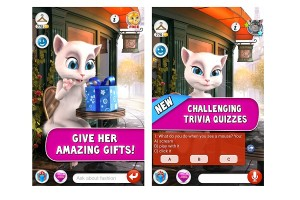 Talking Angela Android App