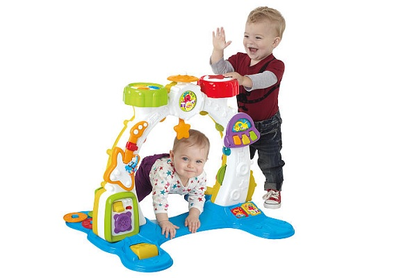 Playskool Rocktivity Sit Crawl And Stand Band Activity Arch