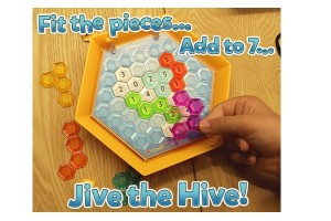 Hex Hive Puzzle Game