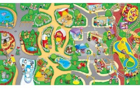 Fisher-Price Little People Wheelies Mat