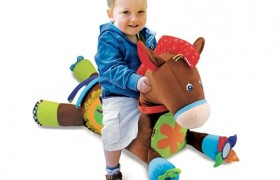 Giddy Up And Play Plush Horse