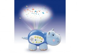 VTech Lil' Critters Soothing Starlight Hippo