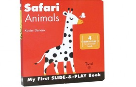 Safari Animals My First Slide-&-Play Book