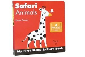 Safari Animals My First Slide-&-Play Book