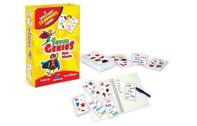 Super Genius First Words Card Game
