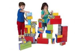 Big Stack Cardboard Blocks