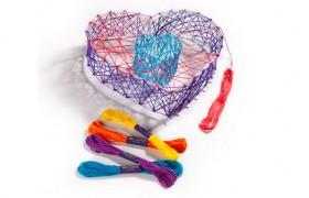 Craft-tastic 3D String Art Set