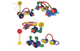 Tinkertoy Wild Wheels Building Set