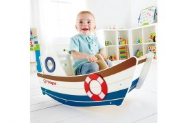 How To Keep Your Little Sailor Happy With This High Seas Rocker