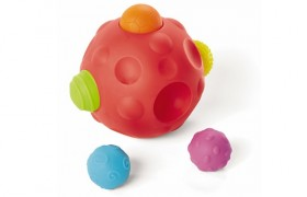 How To Keep Toddlers Busy With Pop 'n Play Sensory Balls