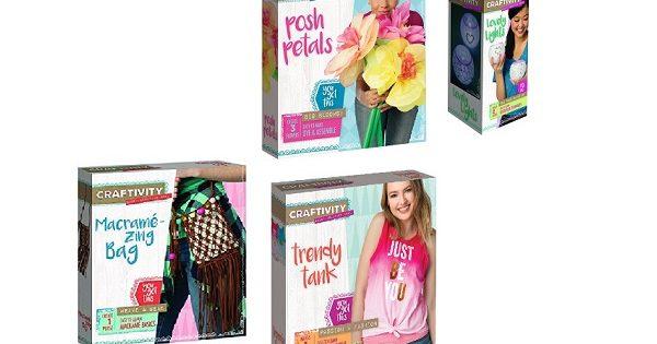 Craftivity Kits To Encourage Creativity In Kids