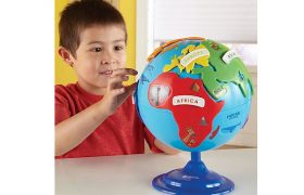 Kids Can Learn Geography With The Puzzle Globe