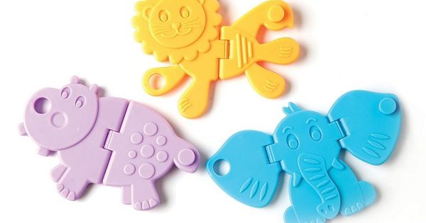 Animal Crackers Baby Toy