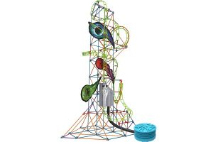 Lunar Launch Roller Coaster Building Set