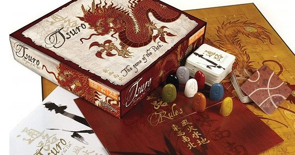 Calliope Tsuro Board Game